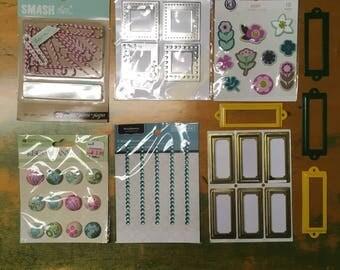 Scrapbook Supply Mini Destash Lot