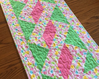 Easter Pole Twist Table Runner