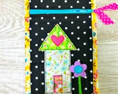 My House Zippy Pouch - Green Roof