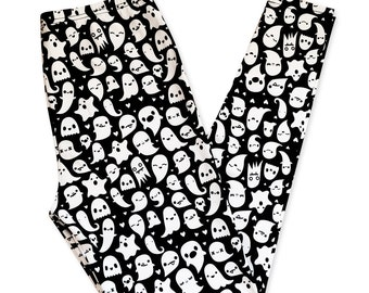 Ghost Leggings - Size S-3X