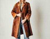 Vintage Brown Pony Fur Coat