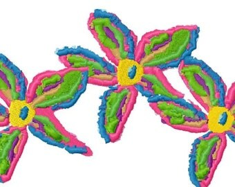 Art Flowers Machine Embroidery Design by Letzrock  3116