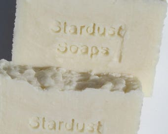 Ohne Bar Soap (Unscented, fragrance free, dye and color free) (Gentle on skin, For sensitive skin, great for eczema, babies)stardust soaps