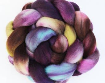 """BFL Wool  Spinning Fiber, 4 oz, """"Hollow"""""""