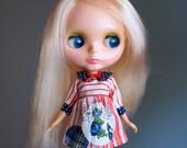 SALE american beauty vintage dress for blythe