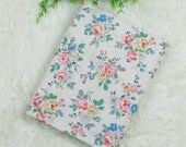 4537 - Cath Kidston Kingswood Rose (Light Beige) Cotton Fabric - 53 Inch (Width) x 1/2 Yard (Length)