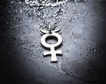 tiny MERCURY necklace