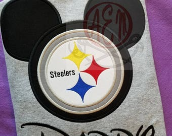 Personalized Steelers Mousehead Unisex Style Shirt