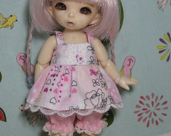 Dress and Bloomers for Pukipuki