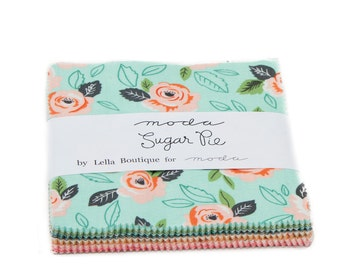 Sugar Pie (5040PP) by Lella Boutique - Charm Pack