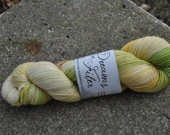 Merino/Nylon Superwash Sock Yarn - Chamomile Colorway