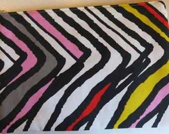 Tablet cosy in a funky stripe