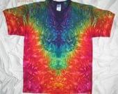 tie dye, XL inkblot ice dye, Tie Dye Shirt by GratefulDan, psychedelic tee, trippy ice dye shirt
