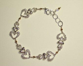 ORIGINAL DESIGN STERLING Piggy Bax Bracelet