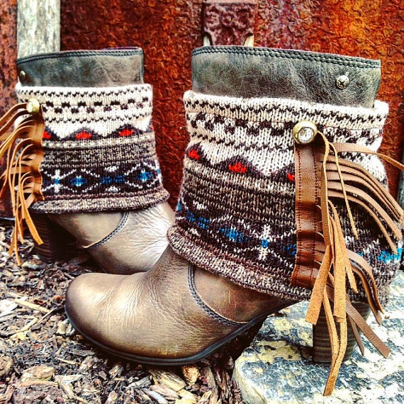 Custom Upcycled Short Boot Outfit, Choose your favorite decorations ~ Send me your favorite short boots to decorate ~ Made To Order