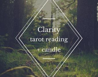 Clarity tarot reading / intuitive tarot / video reading / tarot reading / online tarot reading / email tarot reading / tarot card reading
