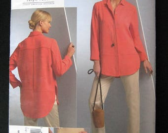 VOGUE V1054 Chado Ralph Rucci pattern  Misses shirt and pants size 16 to 24 uncut like new