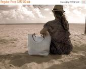 Natural Linen Tote Bag,  Bag, Linen, Beach Bag, Large, Casual Tote, Everyday Tote, Simple Bag, Casual Handbag, Minimalist