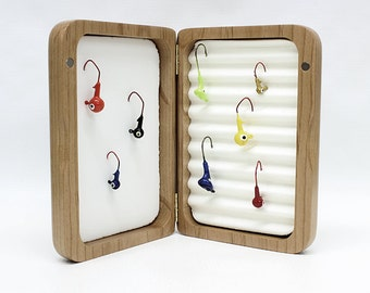 Fly Fishing Box,Fishing Lure,Trout Fly Box,Fathers Day Gift,Groomsman GIft,Personalized Fishing Lure Box,Personalized Fly Box,Fly Fishing