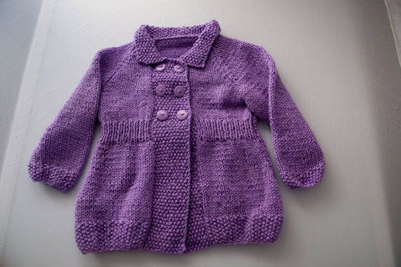 Custom Order: Child's Cardigan for 18 month child