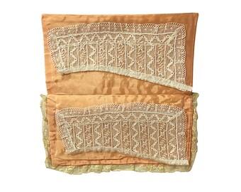 Lace Collar Set | Handmade Fine Fashion | Antique Ladies Dress Collar | Victorian Fashion