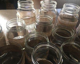 Jar Candleholders
