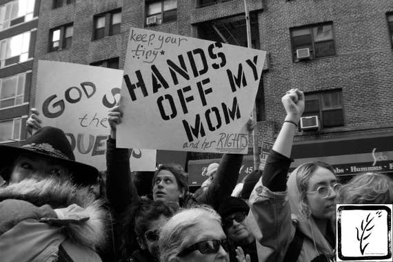 B&W #Photograph, #Resist, #shepersisted, Hands Off My Mom, haiku, feminist, photo print, wall art, home decor, protest, #womensmarch