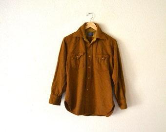 1970's Pendleton Wool Western Shirt