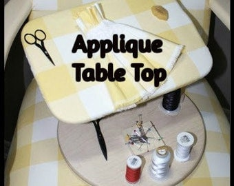 Applique Laptop Stand / Work Table from Barnett's Laptop Hoops