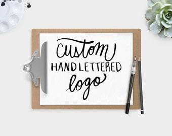 Custom Hand Lettered Logo Branding Hand Lettering Caligraphy Logo