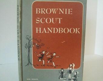 Vintage Brownie Scout/ Girl Scout Handbook 1954