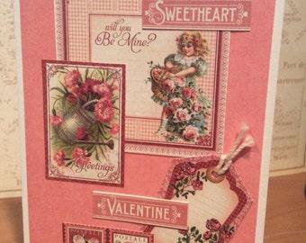 February Greeting a Card, February  Birthday Card, Anniversary Card, Blank Card, Note Card