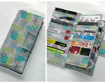 Credit Card Organizer Wallet, Gift Card Holder, women's wallet,  38 Slots Loyalty Card Organizer, Business Card wallet Ready to Ship