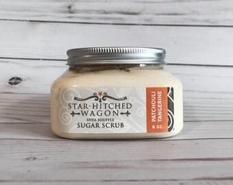 Patchouli Tangerine Shea Souffle Sugar Scrub