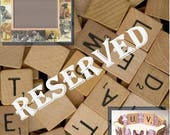 RESERVED for CHRISTY / Australian Cattle Dog Bracelet / SCRABBLE Handmade Jewelry / Dog Lover Gift