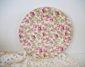 Chintz Rose Salad Plate Chintz Collection by Royale Garden Staffordshire Bone China England Decorative Plate