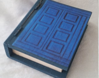 River Song's Journal Mini Book Box - Ring Box - Engagement Ring Box - Doctor Who Proposal Box - Gift Box - Doctor Who Tea Tin Gift Box