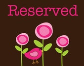 RESERVED FOR - Dawna