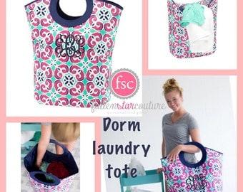 mia tile mega tote with monogram laundry tote graduation