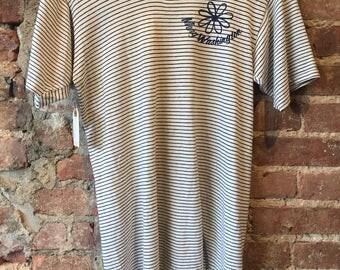 vintage mary washington striped t shirt