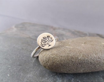 Tree of Life ring - Tree Ring - Family Tree Jewelry