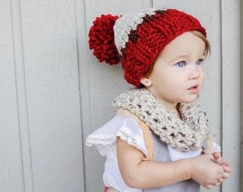 Knit baby hat, knit baby beanie, baby beanie, baby hat, knit gift, knitwear, fair isle hat, fair isle beanie