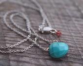 Turquoise Minimalist Necklace