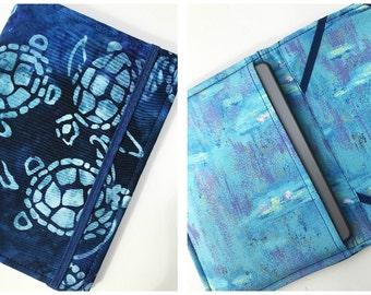 Kindle Paperwhite Case, Nook Glowlight Case, Samsung Nook Cover, all sizes, Sea Turtle Monet eReader Case