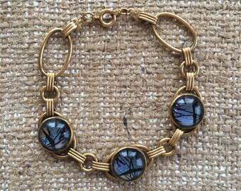 Vintage Butterly Wing Bracelet