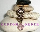 Custom Order for Kathy Namaste Om Chakra Rock Cairn