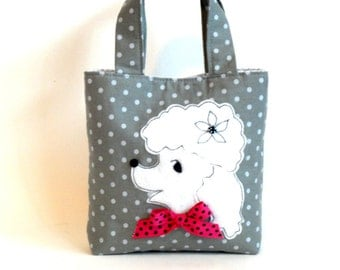 SALE! poodle purse