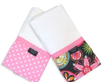 40% off Carnival Bloom Burp Cloth Set