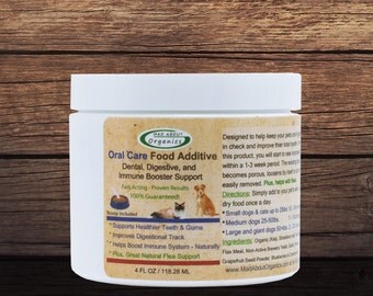 Oral Care Food Additive for Cat's or Dog's