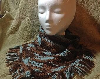 Crocheted Bandana Cowl